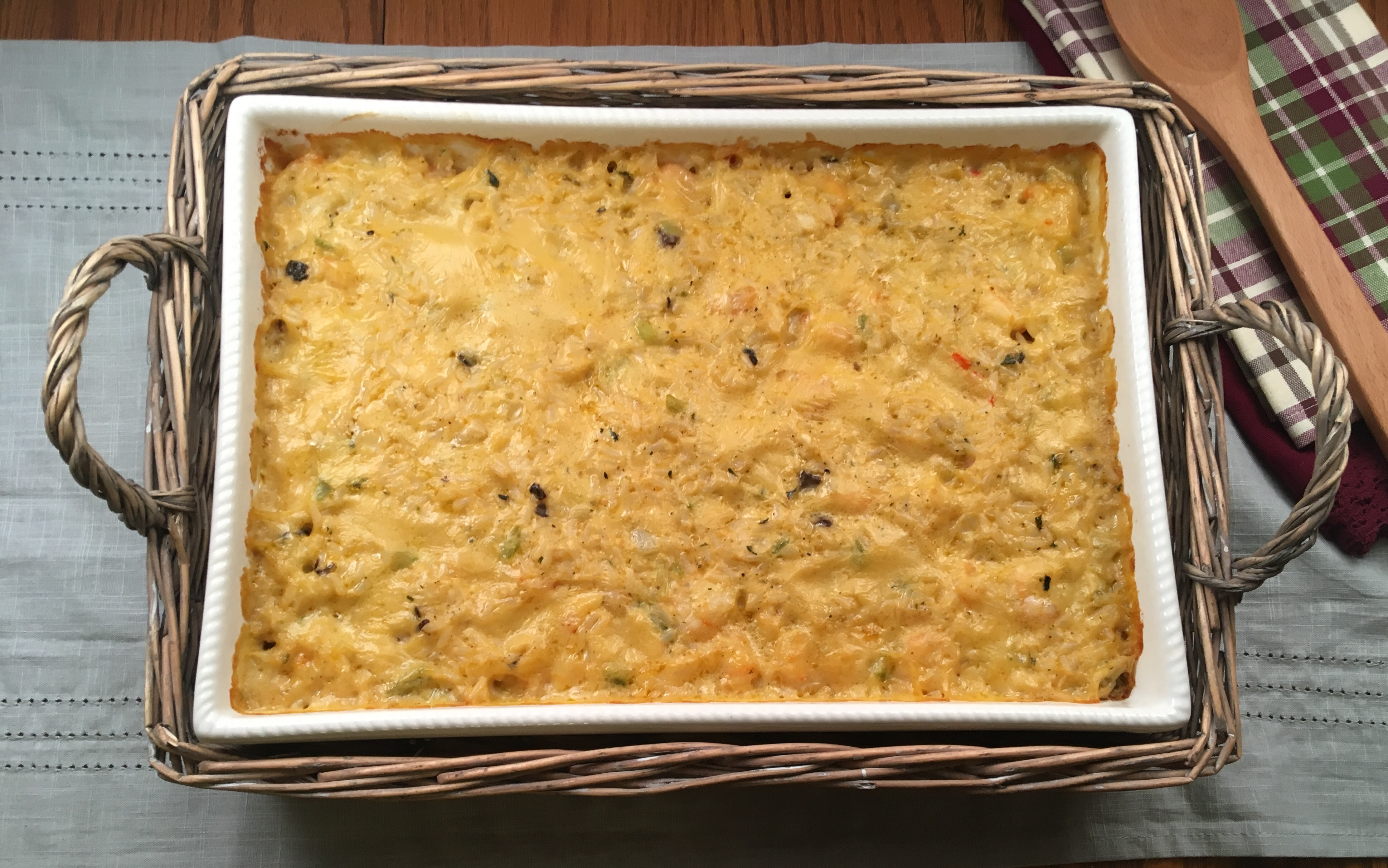Southern Shrimp and Rice Casserole
