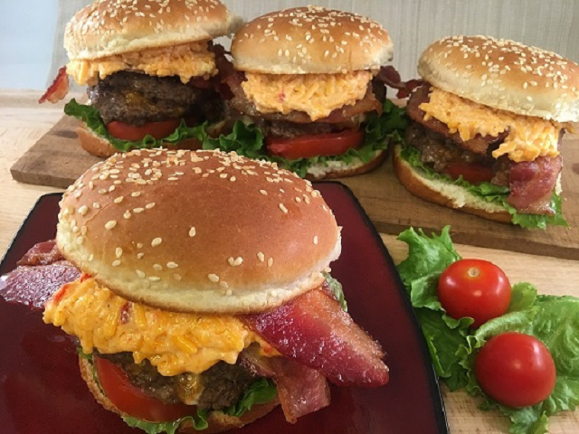 Ultimate Blue Cheese Stuffed Hamburgers