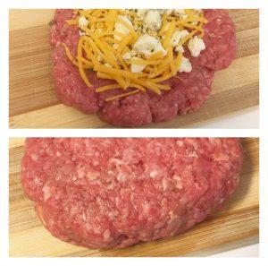 blue cheese stuffed hamburgers